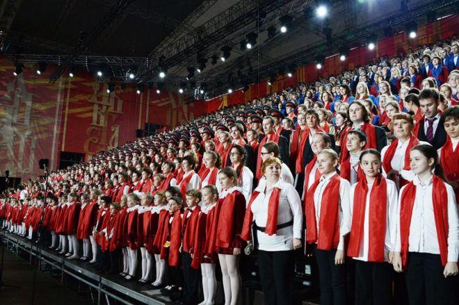 Областной сводный детский хор выступит вКоломне 24мая